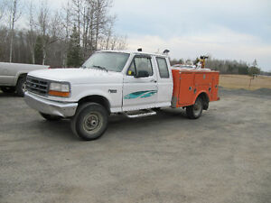 1996 Ford F-250 service truck