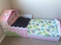 Girls toddler bed