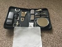 Men's grooming and travel set. Great stocking filler