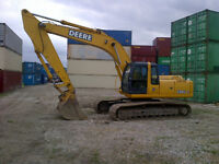 John Deere 230C LC Excavator for RENT or Sale