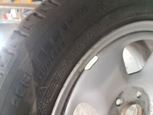 Michelin Xice tires  and rims 225/55R17