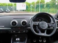 2018 Audi A3 1.0 TFSI S Line 5dr Hatchback Petrol Manual