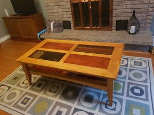 Coffee and sofa table set