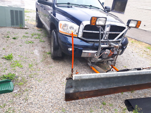 2006 dodge ram 1500 with snow plow and big Salter
