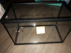 Fish tank and supplies for sale