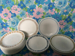 Vintage Corelle Dinnerware and Mugs