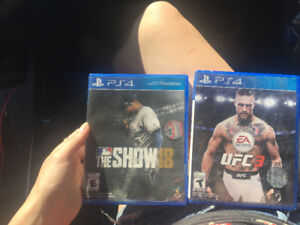Two newer ps4 games