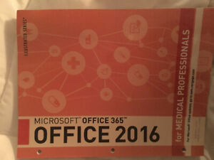 Microsoft 365 Office 2016 for Medical Professionals.