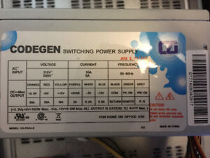 CODEGEN variable power supply