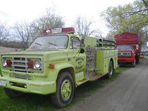 Pumper/fire truck
