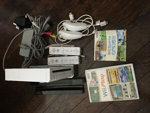 Wii package deal or separate accessories