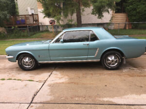 1965 Mustang Coupe - 6 cyl  Original engine and family owned