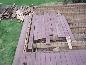 Deck/shed removal