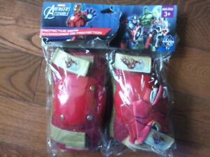 Avengers Iron Man bicycle protective gear. Age 3+