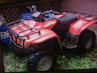 250 fourtrax for sale get on an go valves need to be adjusted !
