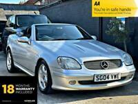 2004 Mercedes-Benz SLK 2.0 SLK200 Kompressor 2dr Convertible Petrol Automatic