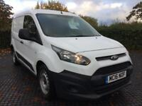2016 (16) Ford Transit Connect 1.6TDCi ( 75PS ) 1 Owner Low Miles White