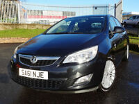 2011 Vauxhall Astra 1.4i 16v VVT Excite - ONLY 45000mls - KMT Cars