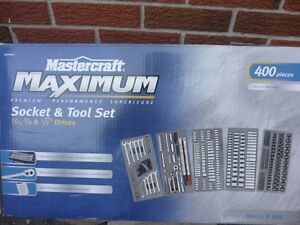 Mastercraft Maximum Socket & Tool Set