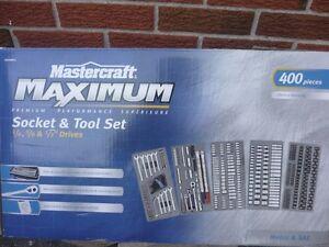 Mastercraft Maximum Socket & Tool Set