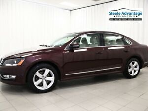2014 Volkswagen Passat Loaded Diesel w/Leather, Sunroof and #1 B