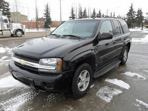 2005 Chevrolet Trailblazer LS* 4x4* One owner* Accident free*
