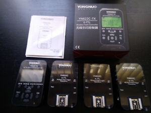 Yongnuo Canon Wireless Flash Trigger System