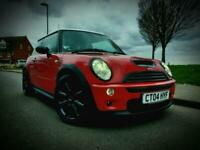 2004 04 Mini Cooper S 1.6 Supercharged 6spd 99k FSH FACELIFT .. PX !