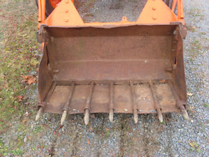 two buckets for a tractor for sale