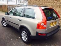 54 PLATE VOLVO XC90 2.4 DIESEL AUTO 7 SEATER 1 OWNER 12 STAMP F/S/H VGC 4X4 (LB54EXN)
