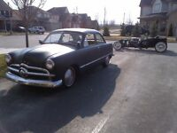 1949 Ford Custom Deluxe Rat Rod Coupe