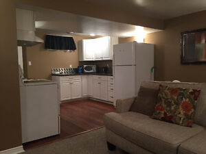 2 bedroom basement suite with utilities, cable and internet inc