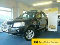 2008/57 REG LAND ROVER FREELANDER 2 2.2 TD4 GS AUTOMATIC 4X4, ONLY 128,000 MILES