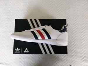 Palace X Adidas Indoor Shoe US 7 White