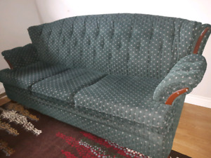 Couch and stand