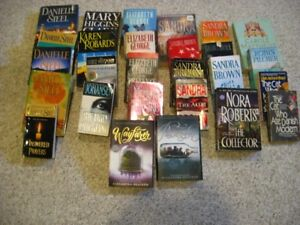 FICTION BOOKS, HARD AND SOFT COVERS