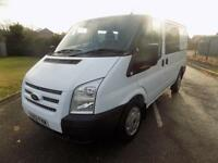 FORD TRANSIT 260 SWB LOW DOUBLE / CREW CAB 2.2 FWD 100 BHP EURO 5 6 SPEED 2013 6