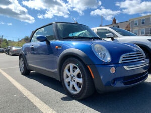 2007 Mini convertible w/ winter tires