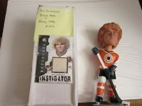 Goldie (Bill) Goldthorpe Bobblehead/Jersey & Autographed Card