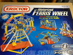 Erector-Meccano Motorized Ferris Wheel 8257