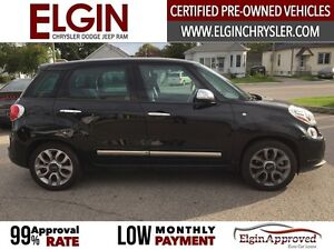 2015 FIAT 500L Lounge***Leather,Pano,Navi,B-up Cam*** London Ontario image 4
