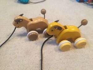 Brio wooden pull toys - Lion King