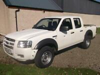 Ford Ranger 2.5TDCi ( 143PS ) 4x4 D/Cab Double Cab 2008, Storry 4x4