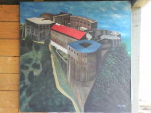 toile haïtienne de Rody Xavier