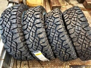 New set of 4 LT245/75r16 Goodyear Duratrac's