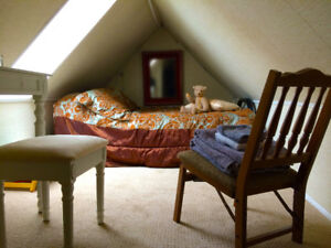 Cozy and Fully-Furnished Attic Loft Suite *Avail. Feb 1*