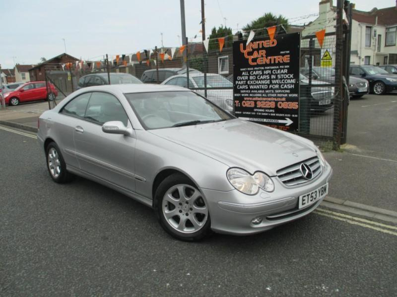 mercedes clk 2 7td clk 270 cdi elegance coupe 2d 2685cc auto in portsmouth hampshire gumtree. Black Bedroom Furniture Sets. Home Design Ideas