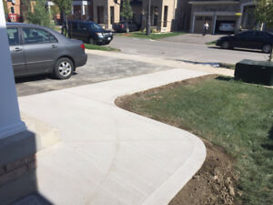 Concrete for your walkway, driveway, patio
