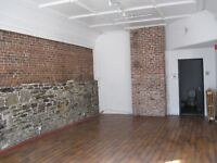 2 commercial spaces; could be offices, store, restaurant, etc...
