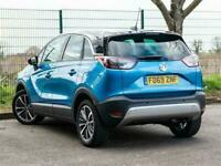 2019 Vauxhall CROSSLAND X 1.2 TURBO GPF ELITE NAV (S/S) 5DR SAT NAV P/ LEATHER